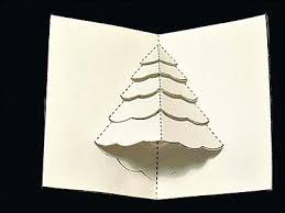 how to make a pop up tree card telegraph