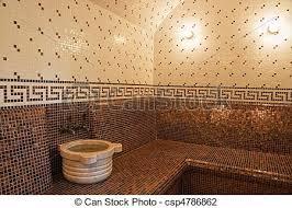 Turkish Bathroom Stock Photo Of Turkish Bath With Ceramic Tile In Roman Style