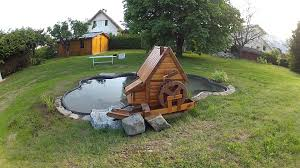moulin a vent deco bassin et moulin de jardin youtube