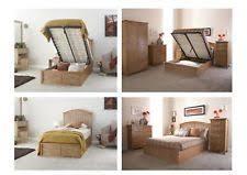 gfw madrid oak wooden ottoman storage bed frame 3ft single