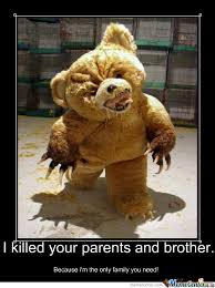 Meme Teddy Bear - overly attached teddy bear by zalgo meme center