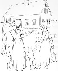 pioneer children coloring pages homes pinterest child