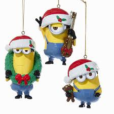despicable me minion ornaments canada dave and carl