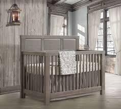 Solid Back Panel Convertible Cribs Baby Koo Rustico Convertible Crib By Natart 5 In 1