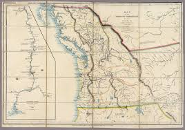 map of the oregon territory david rumsey historical map collection