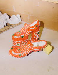 diana shoes diana rojas sculpts your favorite gucci balenciaga and by