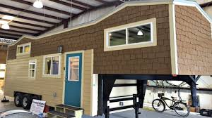 Tiny Home Design by Tiny House On Wheels Gooseneck Design 2 Sleeping Lofts Spacious