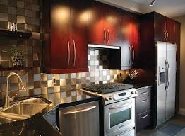 Kitchen Backsplash Materials An Architect Explains - Metal kitchen backsplash