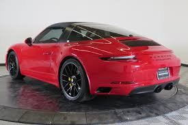 pre owned porsche 911 certified pre owned 2017 porsche 911 targa 4 gts 2dr car in