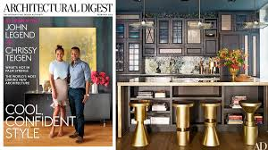 Home Design Show Nyc by John Legend And Chrissy Teigen Show Off Glam Nyc Home John