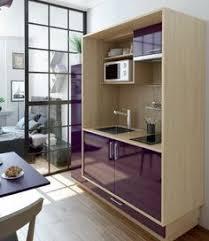 mini cuisine studio une cuisine équipée ouverte sur le salon salons kitchen design