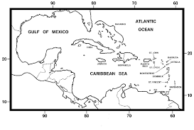 Maps Of The Caribbean by Research Mammals Of Puerto Rico