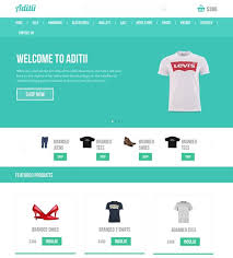 ecommerce website template free ecommerce website templates online