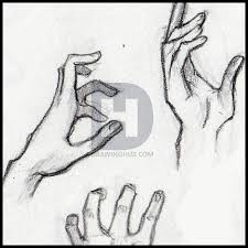 how to sketch hands step by step drawing guide by darkonator
