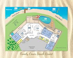 resort floor plan beach resort floor plan family oasis holiday homes