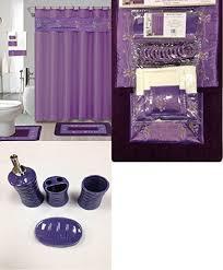 Bathroom Rug And Shower Curtain Sets 22 Bath Accessory Set Purple Flower Bath Rug Set