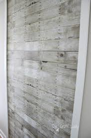 a rental friendly solution for plank walls the craft