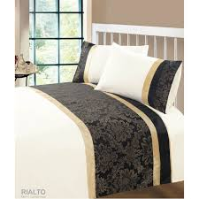 Cream Bedding And Curtains Black And Cream Duvet Covers 3300