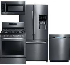 Deals On Kitchen Cabinets Lowes Kitchen Appliance Bundles Appliance Black Stainless Steel