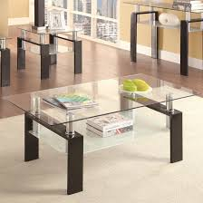 Glass Top Coffee Tables And End Tables Glass Top Coffee Tables And End Tables Best Of Black And Clear