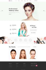 Wedding Makeup Artist Richmond Va Makeup Artist Website Template