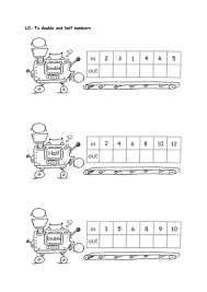 doubling and halving machines by isotope824 teaching resources tes
