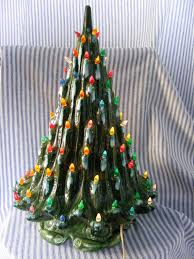 21 atlantic mold a314 vintage drip glaze ceramic tree