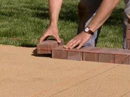 Slope For Paver Patio by How To Create A Brick Patio How Tos Diy