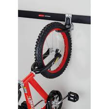 rubbermaid home prod dorfile 1784463 fasttrack vertical bike hook