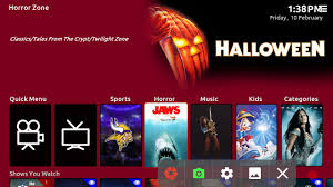 halloween background colors kodi titan skin how to change the background color quickly