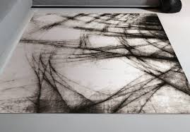 Black White Rugs Modern Modern Area Rugs Allmodern Intended For Black White Rug