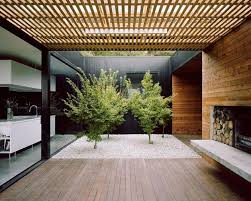 house with courtyard courtyard house built for severe tasmanian weather courtyard