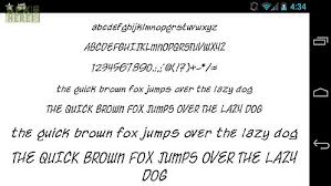 fonts for android fonts for flipfont 50 written for android free at apk