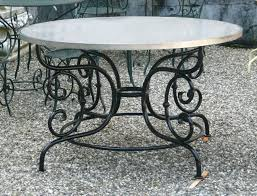 table stunning dining tables bar height table bases vintage cast