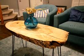 live edge table chicago coffee table unbelievable wood slab coffee table photo concept