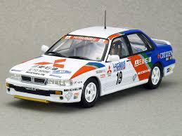 mitsubishi race car altaya mitsubishi galant vr 4 1989 rac rally p airikkala model