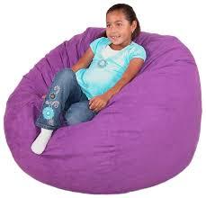 com cozy sack 3 feet bean bag chair um purple kitchen dining