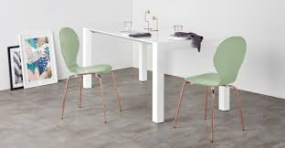Copper Dining Room Table 2 X Kitsch Dining Chairs Green And Copper Made Com