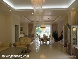 5 Bedroom Townhouse For Rent Luxurious Villa With 5 Bedrooms For Rent In Vinhomes Riverside