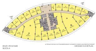 floor plans of spaze i techpark gurgaon commercial office
