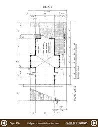 Blacksmith Shop Floor Plans Structure Plans Vol 1 Wood Frame And Stone Structures Download