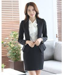 formal ladies office skirt suit 2016 office uniform designs women