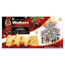 walkers shortbread festive shapes pure butter cookies 12 3oz