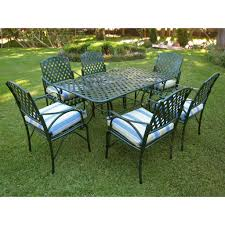 7 Piece Aluminum Patio Dining Set - patio dining sets