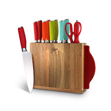 kitchen knives direct 12 cutlery set with knife block solid colors