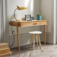 bureau console pas cher console bureau design natura console bureau en bois de ch ne