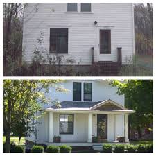 before and after curb appeal add dimension to a plain facade add