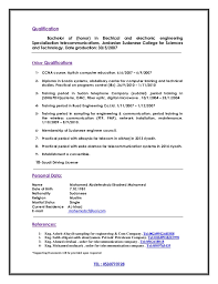 telecommunication technician resume eliolera com