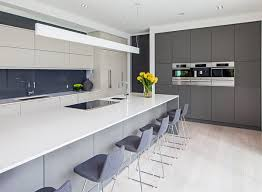 Kitchen With Gray Cabinets 35 Gray Kitchen Counters You Can U0027t Say No To With Pictures