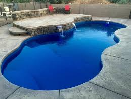 new great lakes in ground fiberglass pool by san juan new free form san juan fiberglass pool the costa azul san